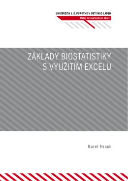 Základy biostatistiky s využitím Excelu - pokrok