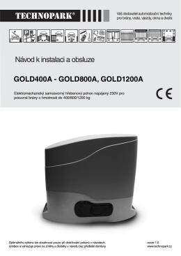 GOLD400A - GOLD800A, GOLD1200A