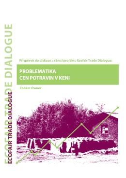 Problematika cen potravin v Keni (PDF, 285 KB)