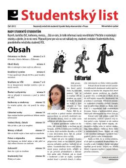 Editorial - iLIST.cz