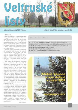 VL 5.2013 - Veltrusy