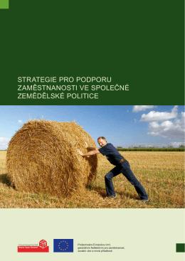 strategie pro podporu zaměstnanosti ve společné zemědělské politice