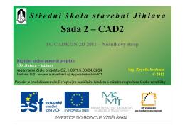 Sada 2 – CAD2