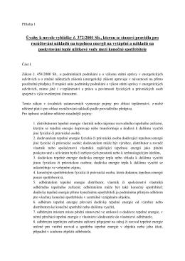 Úvahy k novele vyhlášky č - Portál společenství vlastníků jednotek