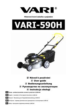 Travní sekačka VARI-590H