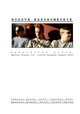 """""""Bodová Exponometrie"""" napsal BcA.Martin Preiss,ACK (pdf)"""