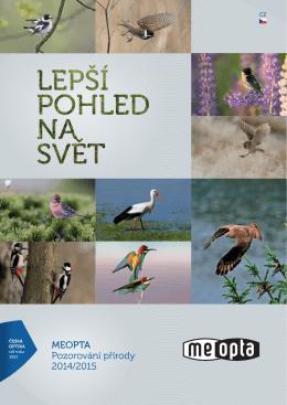 MEOPTA Pozorování přírody 2014/2015