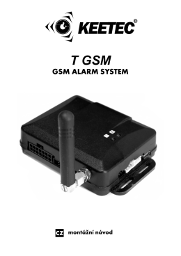T GSM - LevneAlarmy.cz