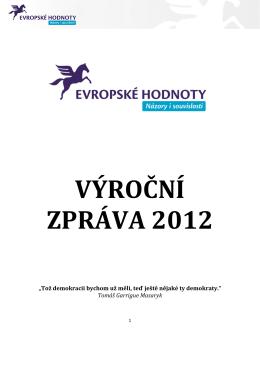 Výroční zpráva 2012 - Think