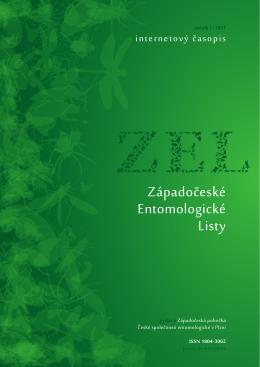 Západočeské Entomologické Listy