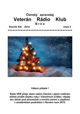4/2014 - Veterán Radio Klub