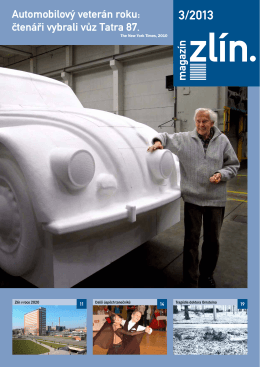 Automobilový veterán roku: čtenáři vybrali vůz Tatra 87.
