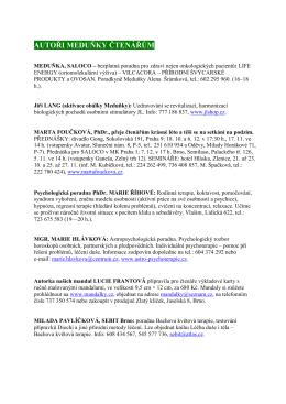 WEB_č 7 11 _Autoři_meduňky