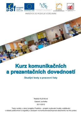 Kurz komunikačních a prezentačních dovedností