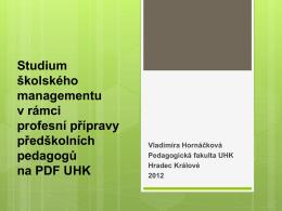 PaedDr. Vladimíra Hornáčková, Ph.D. - Csm