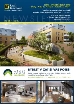 Newsletter DUBEN 2013 CZ - Real