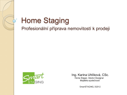 Home Staging - RE/MAX Well