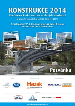 KONSTRUKCE 2014 - Česká asociace ocelových konstrukcí