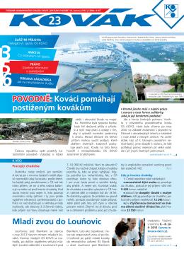 Číslo 23 - 2013 - Odborový svaz KOVO