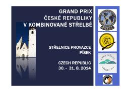 GRAND PRIX České republiky v kombinované střelbě