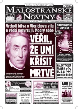 1 - Malostranské noviny