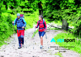 TREKKING & OUTDOOR SPORTSWEAR Since 1990 Made in