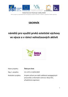 Sborník námětů pro .. (pdf) - Střední škola, Základní škola a