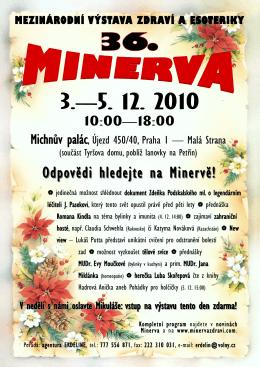 Odpovědi hledejte na Minervě!