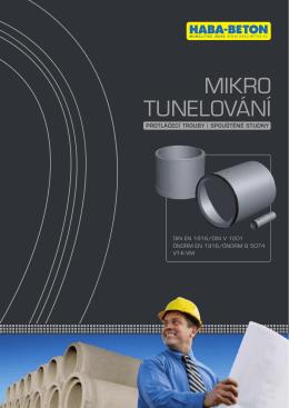 MIKRO TUNELOVÁNÍ - HABA