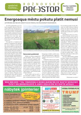 Stáhnout pdf - Rožnovský prostor