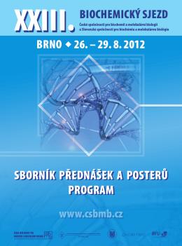 sborník přednášek a posterů