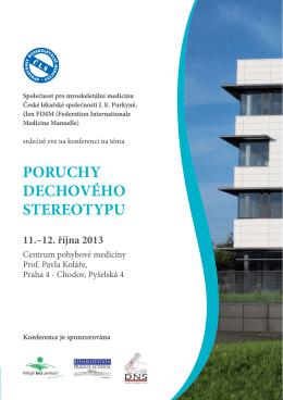 Pozvánka v PDF - Conference Partners