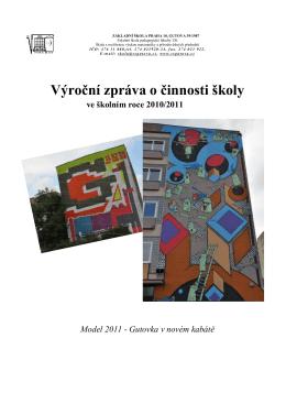 Výroční zpráva za rok 2010/2011