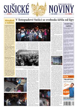 FLL - sušické noviny