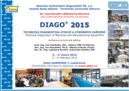 Diago 2015 - Vysoká škola báňská