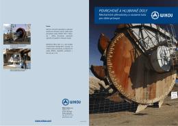 převodovky pro důlní průmysl