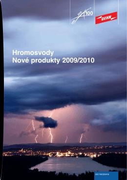 Hromosvody - Nové produkty 2009/2010 - DS 170