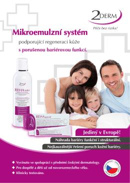 Brožura 2DERM dermatologové