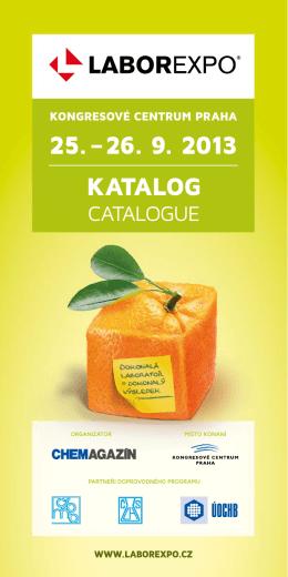 25. – 26. 9. 2013 KATALOG
