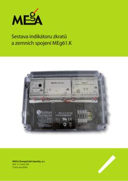 Sestava indikátoru zkratů a zemních spojení MEg61.K