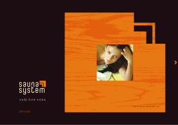 katalog produktů SaunaSystem (PDF)