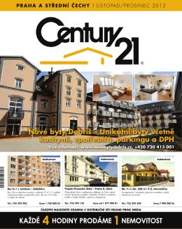 Prodej - CENTURY 21 Bonus Praha