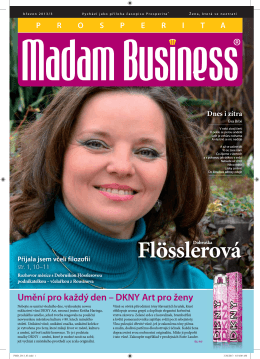 Březen - Prosperita Madam Business