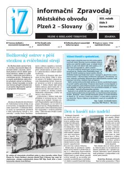 iZ_06_2013 - Portál městského obvodu Plzeň 2