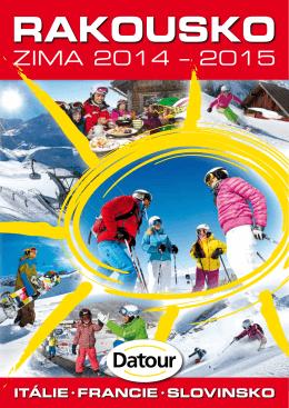 Rakousko zima 2014/2015