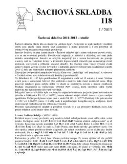 ŠACHOVÁ SKLADBA 118