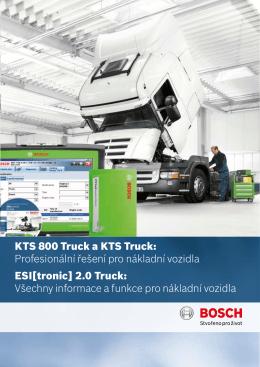 KTS 800 Truck a KTS Truck: Profesionální řešení pro