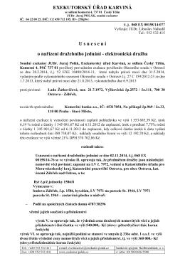 č. j. 068 EX 00158/14-077