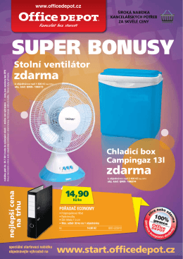 SUPER BONUSY - Office Depot
