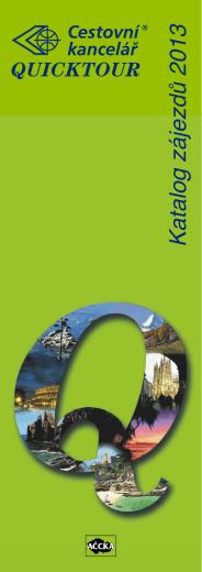 Katalog zájezdů 2013